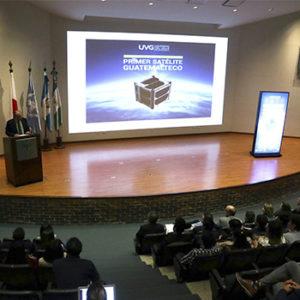 Guatemala recibió contrato para lanzar CubeSat al espacio