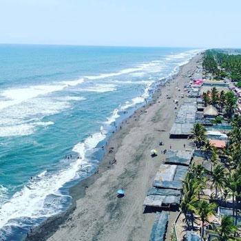 Guatemaltecos realizarán limpieza en playa La Empalizada, Sipacate 2017