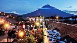 bares con terraza en Antigua Guatemala