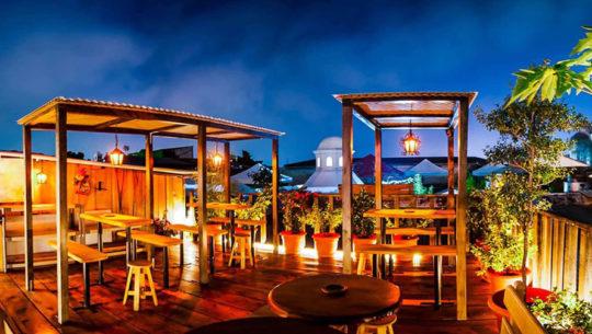Bares con terraza que existen en Antigua Guatemala