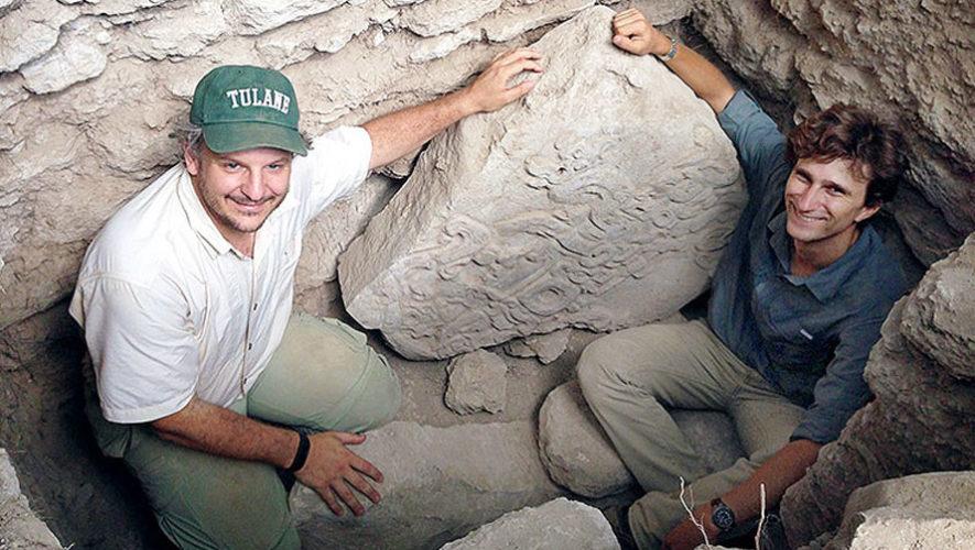 NatGeo resaltó una estela y dos paneles mayas descubiertos en Guatemala