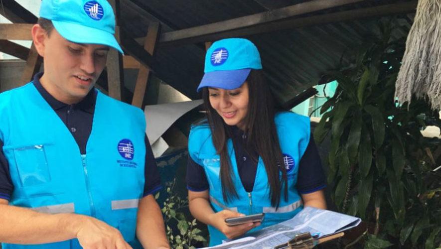 Oportunidad de empleo para el censo en Guatemala, noviembre 2017