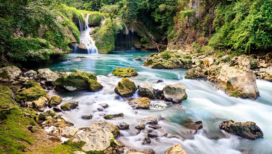 Semuc Champey es un lugar increíble en Guatemala