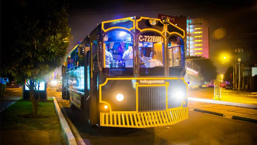 Viajes gratuitos en trolley a la Feria de Jocotenango