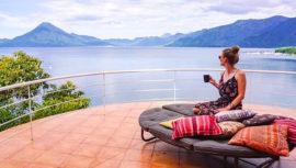 hoteles con vista al Lago de Atitlán