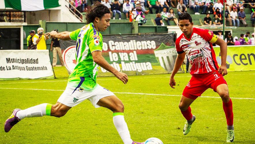 Partido de Antigua y Malacateco por el Torneo Apertura | Noviembre 2017