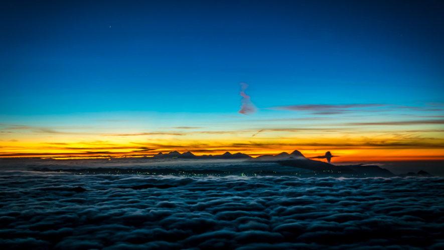 Ascenso al volcán Tajumulco por la Ruta Sur   Diciembre 2017