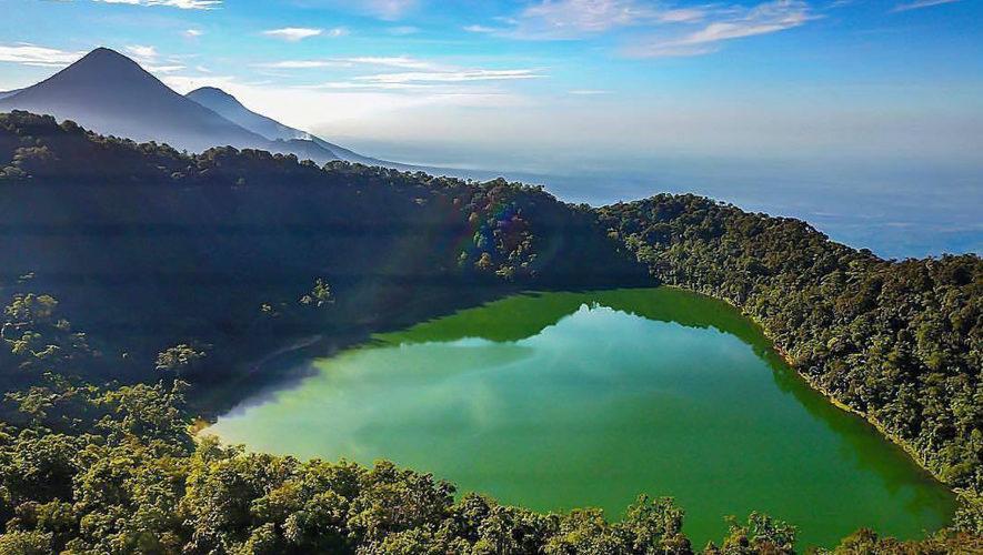 Ascenso a volcanes Siete Orejas y Chicabal   Noviembre 2017