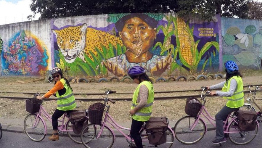 Recorrido en bicicleta por sitios con arte urbano | Noviembre 2017