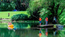 Día de campo en Finca El Zapote, Escuintla