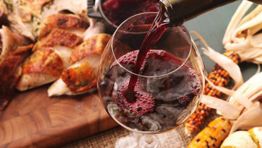 Cena de Acción de Gracias con vino en Sophos | Noviembre 2017