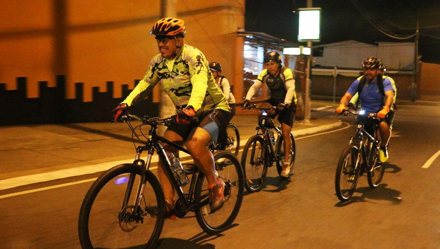 Colazo nocturno en bicicleta en la Ciudad de Guatemala | Noviembre 2017