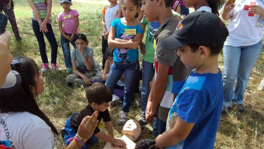 Taller de primeros auxilios en Laguna del Pino | Enero 2018