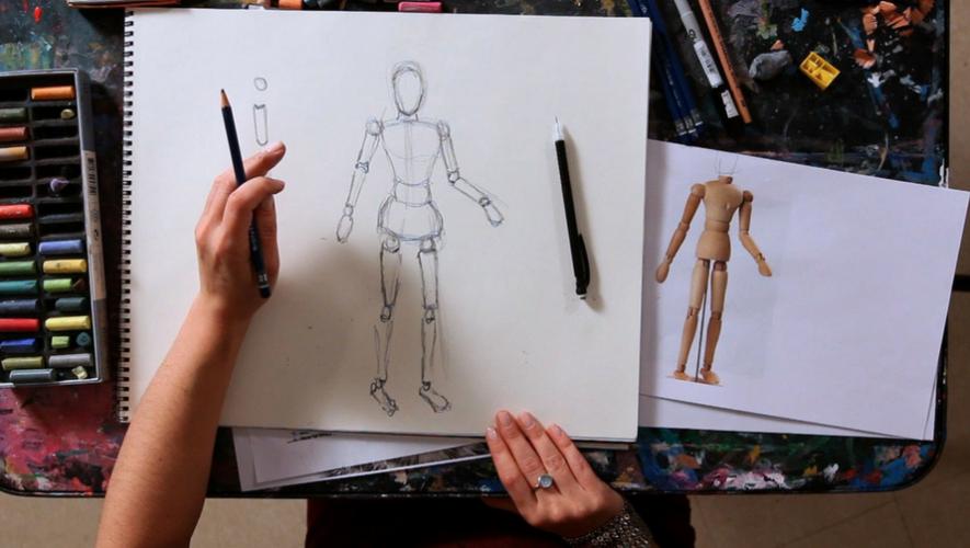 Taller de dibujo de figura humana con Marilyn Boror | Noviembre 2017
