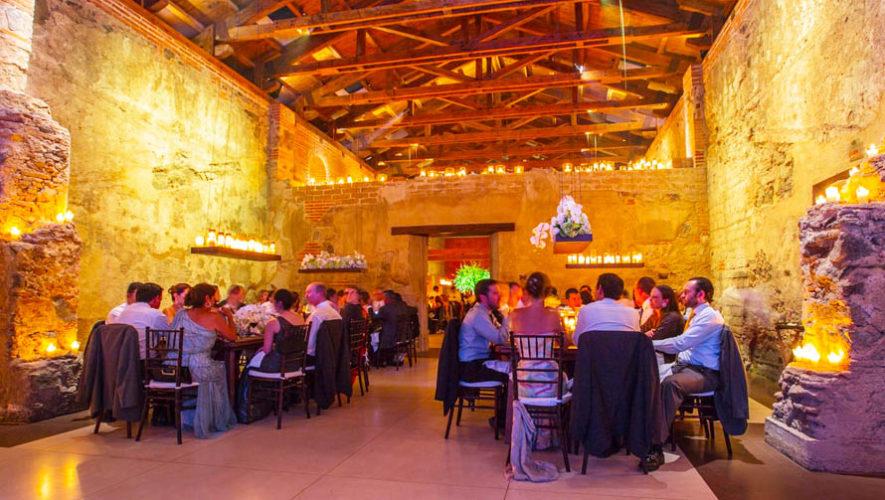 salones para eventos pequeños en Guatemala