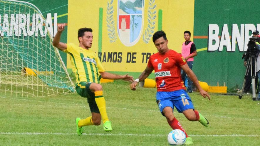 Partido de ida Guastatoya y Municipal por los cuartos de final de Torneo Apertura | Noviembre 2017