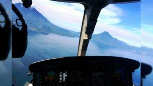Vuelo en avioneta sobre el Lago de Atitlán   Enero 2018