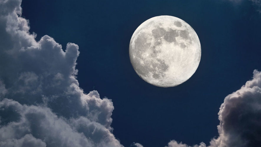 Observación de luna llena con telescopios | Diciembre 2017