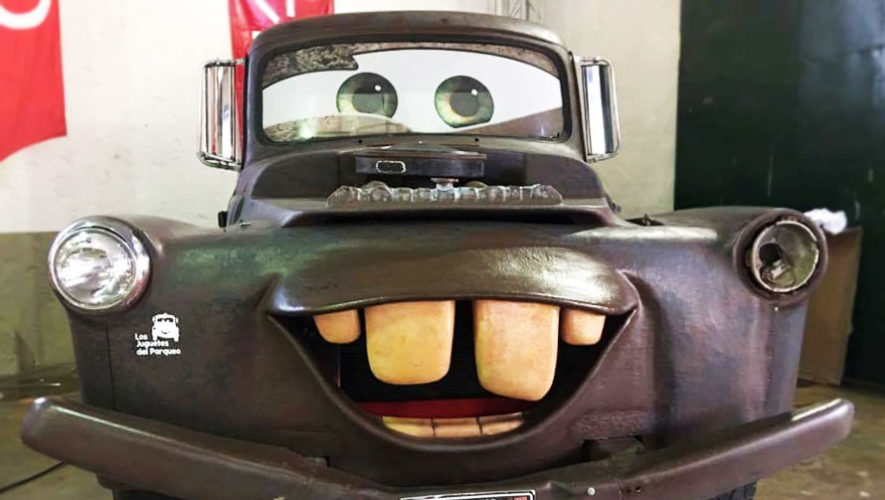 Exposición benéfica de personajes de Cars   Noviembre 2017
