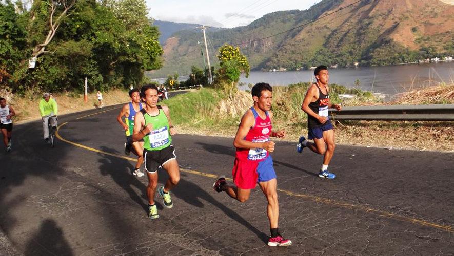 Maya Maratón en el Lago de Amatitlán   Noviembre 2017