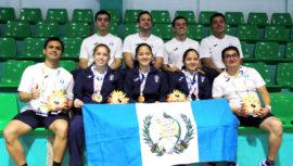 Medallero de Guatemala en los Juegos Bolivarianos Santa Marta 2017