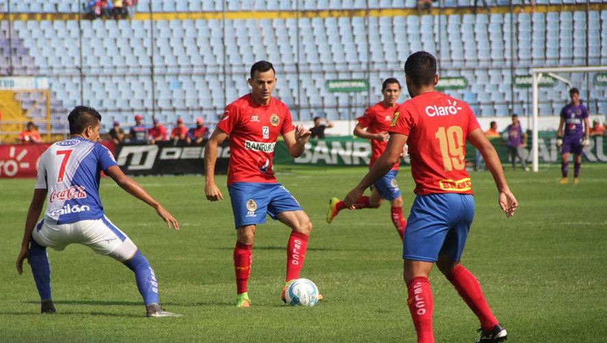 Partido de Municipal y Suchitepéquez por el Torneo Apertura | Noviembre 2017