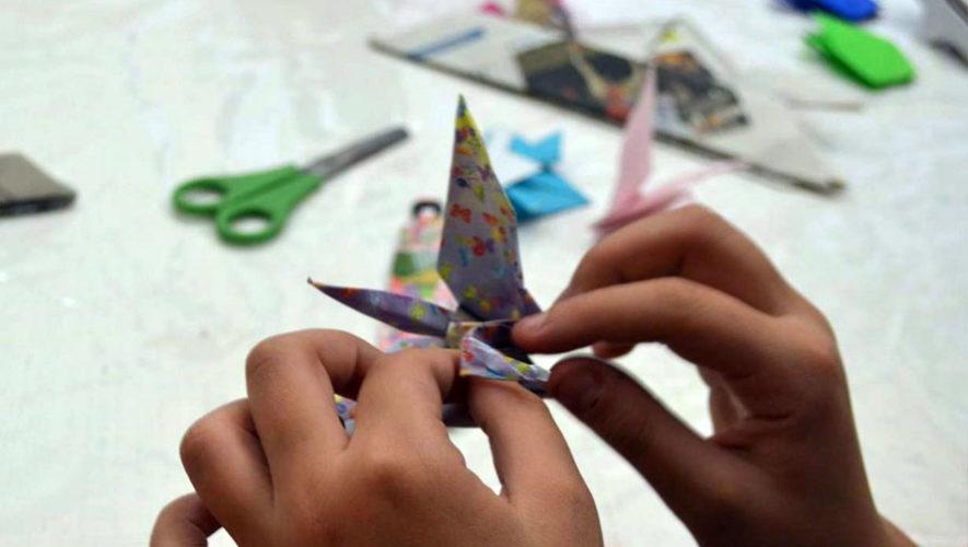 Taller de origami en Nueva Acrópolis   Diciembre 2017