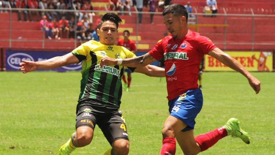 Partido de vuelta Municipal y Guastatoya por los cuartos de final del Torneo Apertura | Diciembre 2017