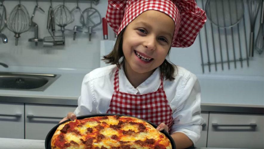 Taller gratuito de pizza para niños en Saúl L'Osteria | Noviembre 2017