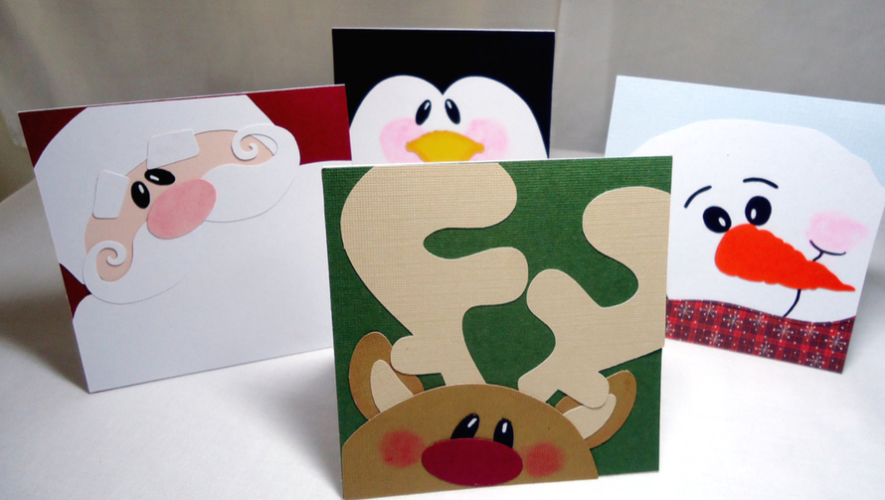 Taller para hacer tarjetas navideñas en 1001 Noches   Diciembre 2017