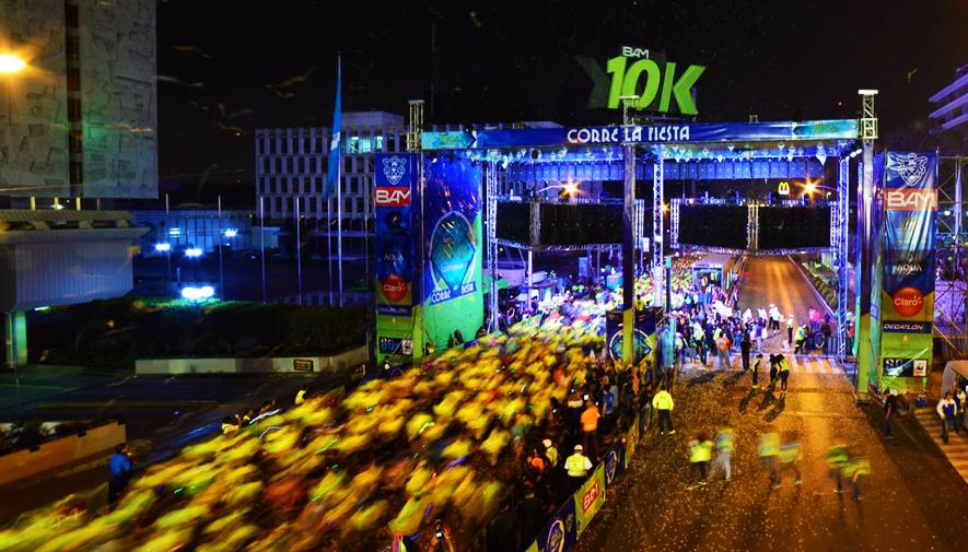 Carrera 10k Nocturna De La Ciudad De Guatemala Abril 2018
