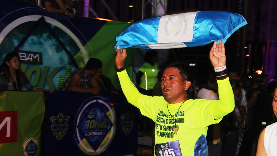Carrera 10K Nocturna de la Ciudad de Guatemala | Abril 2018