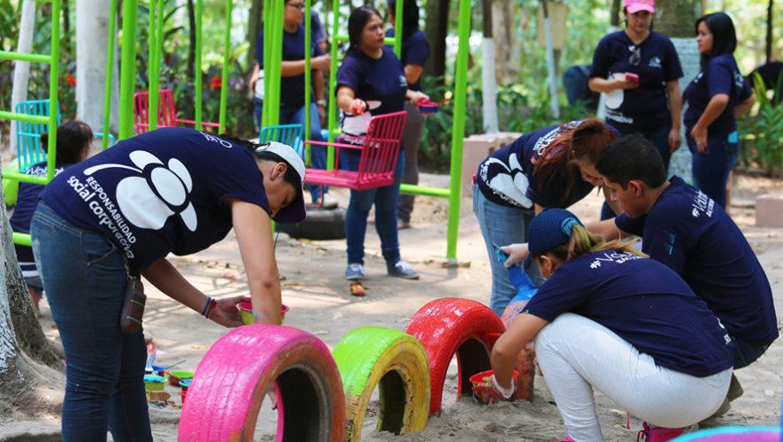 Buscan voluntarios para construir un parque en San Pablo La Laguna, Sololá
