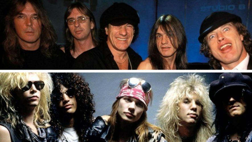 Tributo a AC/DC y Guns and Roses | Diciembre 2017
