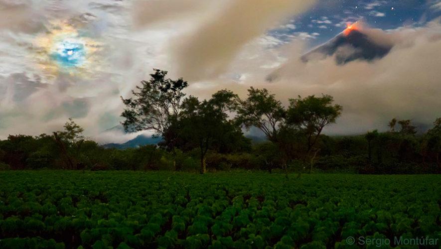 Foto del Volcán de Fuego en Guatemala fue publicada por la NASA