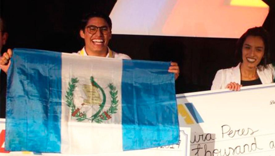 Guatemalteco ganó el primer lugar en competencia de emprendimiento