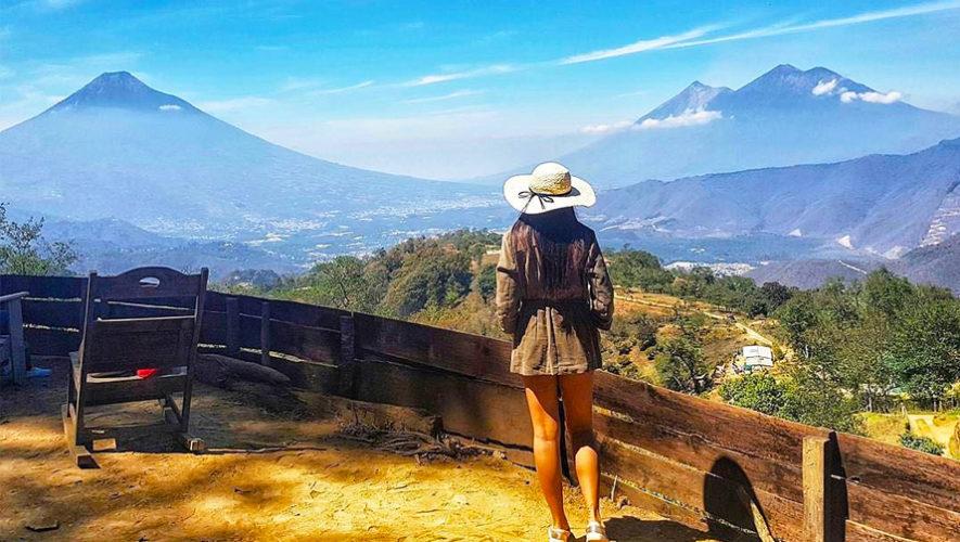 miradores cerca de la Ciudad de Guatemala