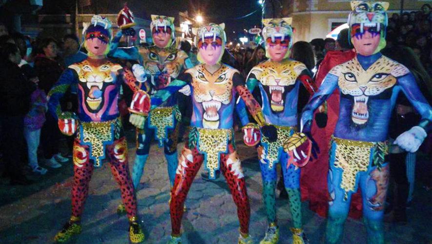 La tradición del recorrido de los diablos en Salcajá, Quetzaltenango