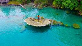 lugares con agua turquesa en Guatemala