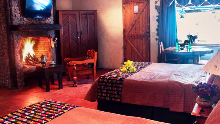 Las cumbres hotel con aguas termales y chimeneas for Hoteles con chimenea