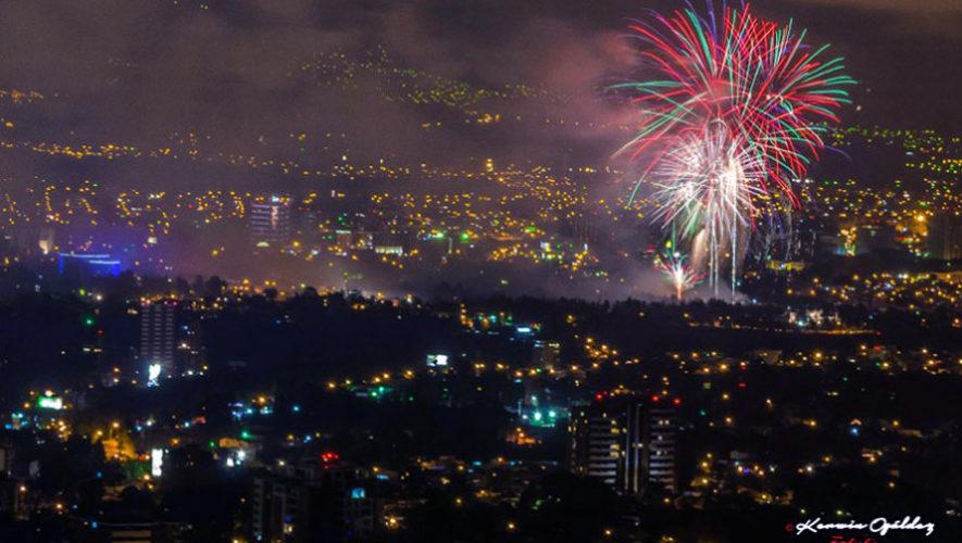 Los mejores lugares para ver las Luces Campero 2017 en la Ciudad de Guatemala