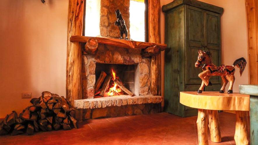 hotel el remanso de tecpn hermosas chimeneas rsticas romnticos hoteles con chimenea en guatemala - Chimeneas Rusticas