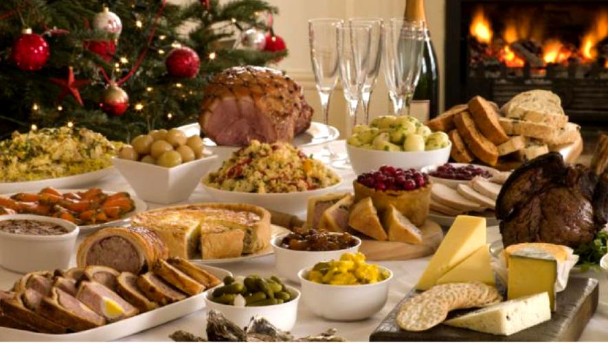 Almuerzo de Año Nuevo tipo bufé | Enero 2018