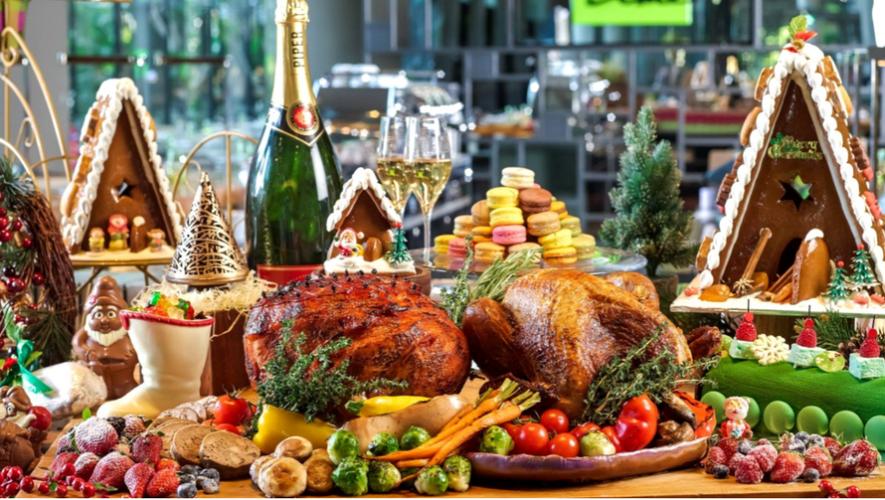 Almuerzo de Navidad tipo bufé | Diciembre 2017