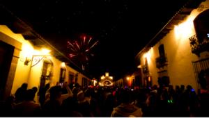 Año Nuevo en el Arco de Santa Catalina, Antigua Guatemala  | Diciembre 2017
