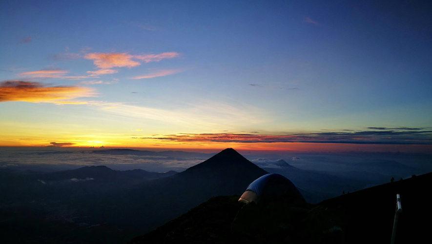 Último ascenso nocturno al volcán Acatenango | Diciembre 2017