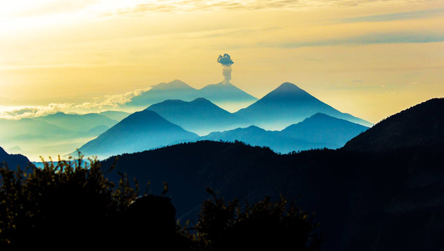 Ascenso al volcán Santa María | Diciembre 2017