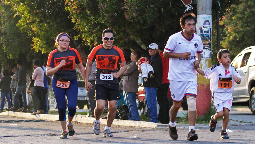 Carrera San Silvestre en San Pedro Sacatepéquez   Diciembre 2017