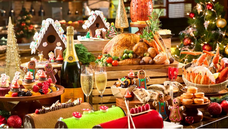Cena de Año Nuevo tipo bufé | Diciembre 2017