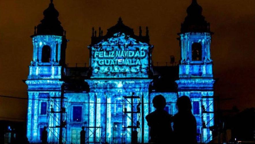 Mapping en la Catedral Metropolitana de Ciudad de Guatemala | Diciembre 2017
